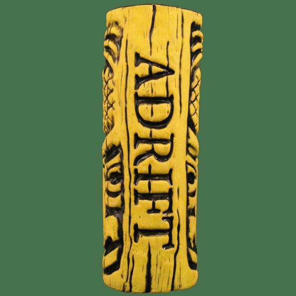 Back - Tiki Mug With Pineapple - Adrift - Yellow Edition