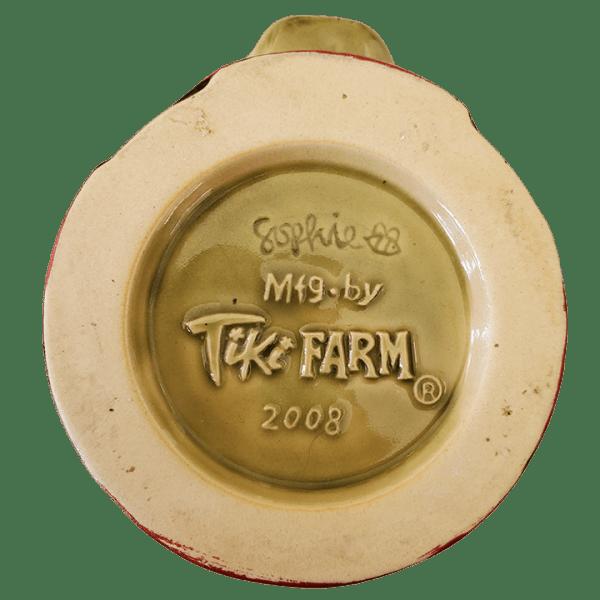 Bottom - Green Gasser Mug - Frankie's Tiki Room - 1st Edition