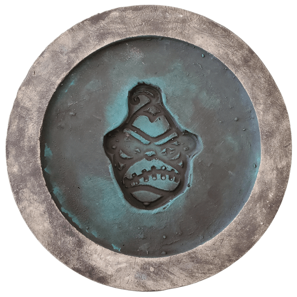 Bottom - Hatbox Ghost - Shrunken Monkey - 1st Edition
