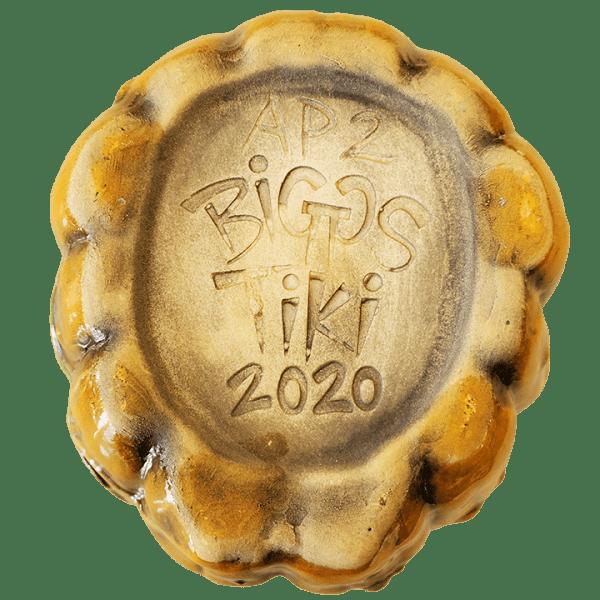Bottom - Jack-o'-Lantern (Halloween 2020 Mug) - Biggs Tiki - 1st Edition