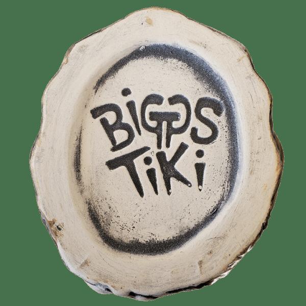Bottom - King Kong Mug - Biggs Tiki - Brown With Crazed Eye Swirls Edition
