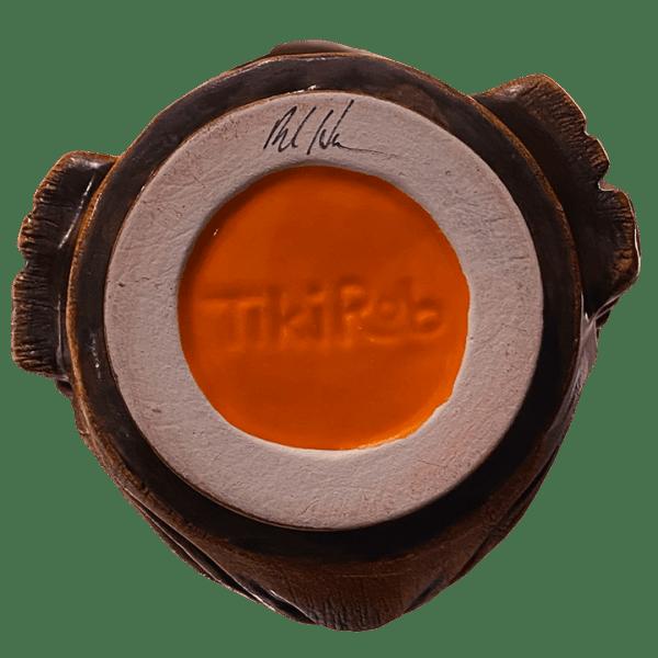 Bottom - Ku Head (Ohana Hui Tiki Stacker) - TikiRob - Brown Edition