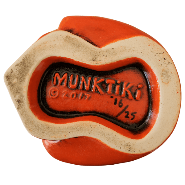 Bottom - Never Say Die Mutant Skull - Munktiki - Halloween Edition
