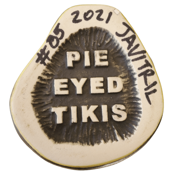 Bottom - Rutherford Zombie Mug - Pie Eyed Tikis - Green Edition