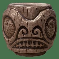 Front - Areiti Marquesan Head (Ohana Hui Tiki Stacker) - Beachbumz - Grey Edition