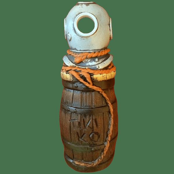 Front - Barrel Mug With Diving Helmet - Tiki-Ko - Orange Rope Edition