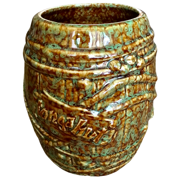Front - Big Rum Barrel - Tonga Hut North Hollywood - Brown and Green Speckled Edition