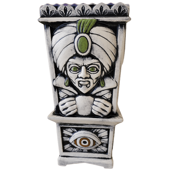 Front - Fortune Teller - Biggs Tiki - Bone White Edition