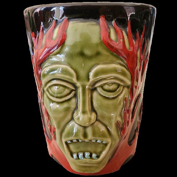 Front - Green Gasser Mug - Frankie's Tiki Room - 1st Edition
