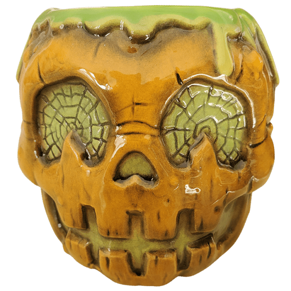 Front - Jack-o'-Lantern (Halloween 2020 Mug) - Biggs Tiki - 1st Edition