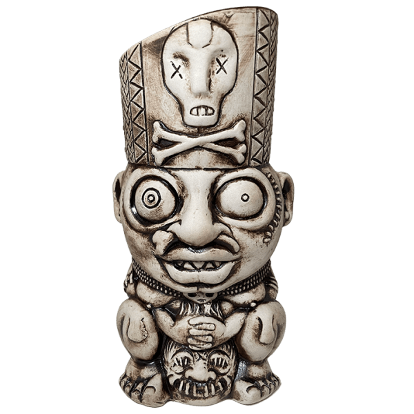 Front - Kaduku Witch Doctor Mug - Lost Temple Traders - Bone Edition