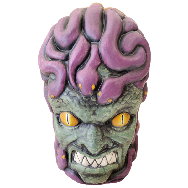 Front - Medusa - Biggs Tiki - Custom Halloween Edition