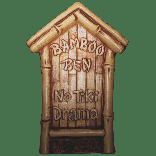 Front - No Tiki Drama Hut - Bamboo Ben - Limited Edition