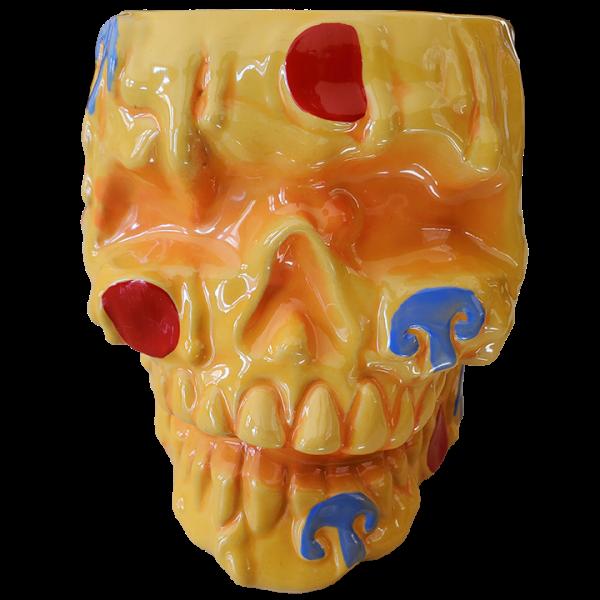 Front - Pizza Morte Skull – Munktiki Imports – 36 Fl. Oz. Edition