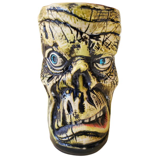 Front - Rutherford Zombie Mug - Pie Eyed Tikis - Green Edition
