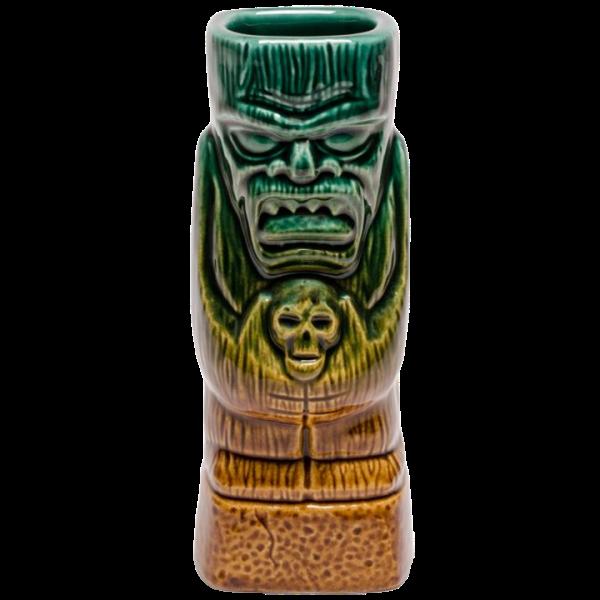 Front - Terror Tiki - Tiki Bauer - Emerald Green and Warehouse Brown Edition