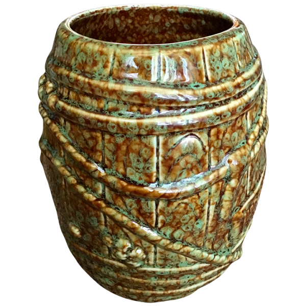 Side - Big Rum Barrel - Tonga Hut North Hollywood - Brown and Green Speckled Edition