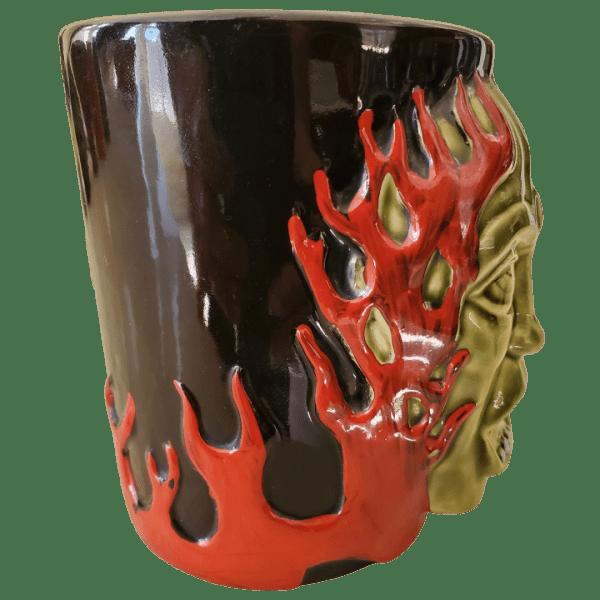 Side - Green Gasser Mug - Frankie's Tiki Room - 1st Edition
