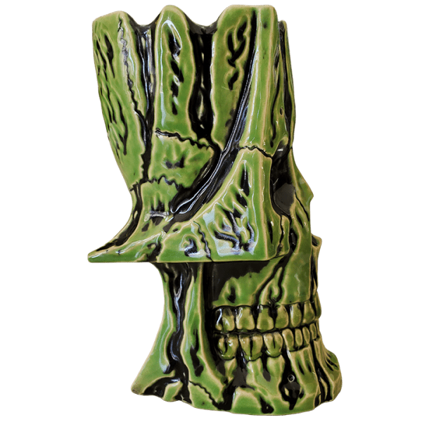 Side - Irwin The II Skull Mug - MP Ceramics - Slimy Goopy Ghostly Edition