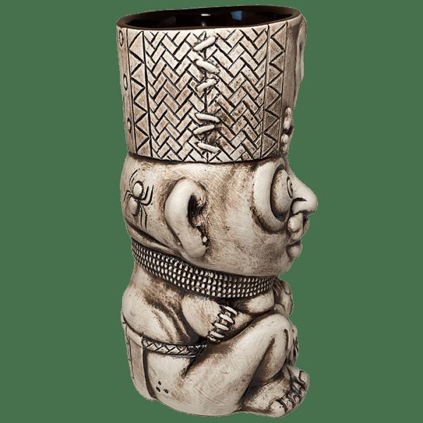 Side - Kaduku Witch Doctor Mug - Lost Temple Traders - Bone Edition