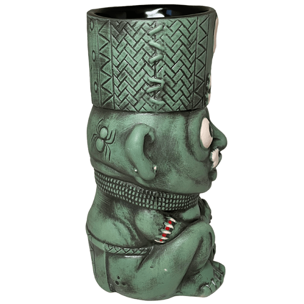 Side - Kaduku Witch Doctor Mug - Lost Temple Traders - Green Edition