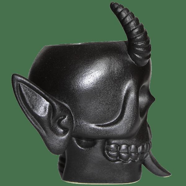 Side - Krampus Skull - Munktiki - Black Friday Edition