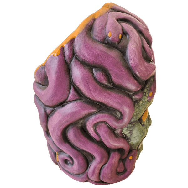 Side - Medusa - Biggs Tiki - Custom Halloween Edition