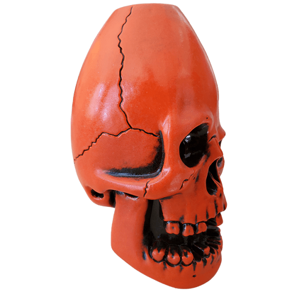 Side - Never Say Die Mutant Skull - Munktiki - Halloween Edition
