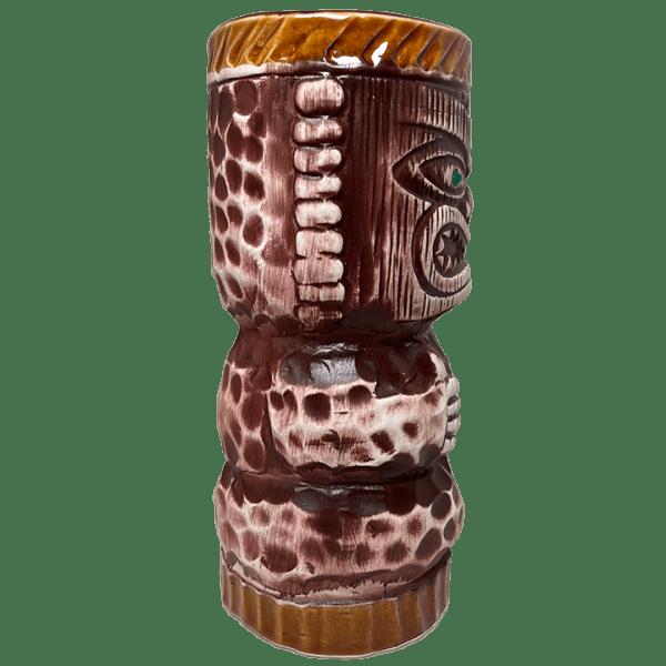 Side - R3 Peanut Tiki Mug (R-3) - Orchids of Hawaii - Open Edition