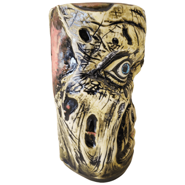 Side - Rutherford Zombie Mug - Pie Eyed Tikis - Green Edition