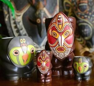 Angoram and Ramu Mugs From Trader Vic's