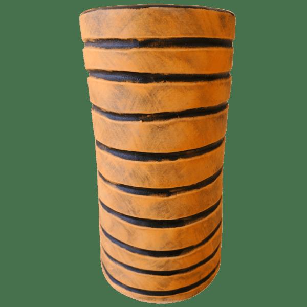 Back - Tiki Bob Mug - TH Tiki - Halloween Striped Edition