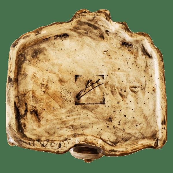 Bottom - Baron Samedi - Kin Pottery - Brown and Red Edition