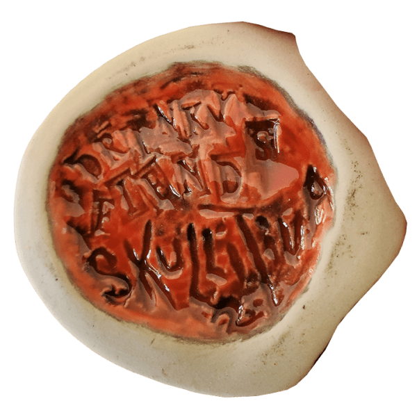 Bottom - Drinky Fiends Skullitiva 2 - Junk Hauler Arts - Custom Halloween Edition