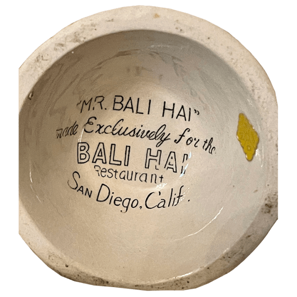 Bottom - Mr. Bali Hai - Bali Hai - Original OMC Mug With Concave Bottom