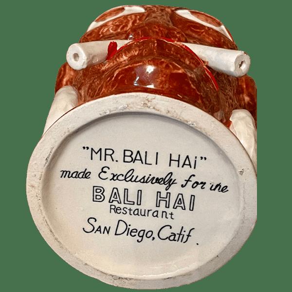 Bottom - Mr. Bali Hai - Bali Hai - Original OMC Mug With Flat Bottom