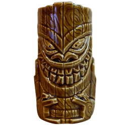 Front - Crazy Niho - Tiki Farm - Brown Edition
