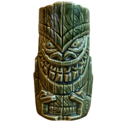 Front - Crazy Niho - Tiki Farm - Green Edition