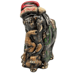 Front - Holiday Elephant - Trader Sam's Enchanted Tiki Bar - Doug Dorr Edition