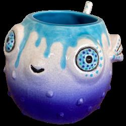 Front - Little Puff - TikiRob - Blue Drip Edition