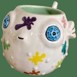 Front - Little Puff - TikiRob - Paint Splat Edition