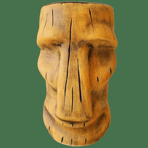 Front - Moai Mug - TH Tiki - Harvest Gold Edition