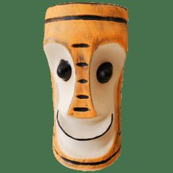Front - Tiki Bob Mug - TH Tiki - Halloween Striped Edition