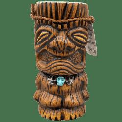 Front - Wahoo Tiki Mug - Beachbumz - Brown Edition