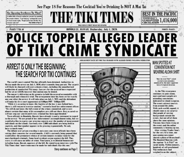Search for Tiki Newspaper Final