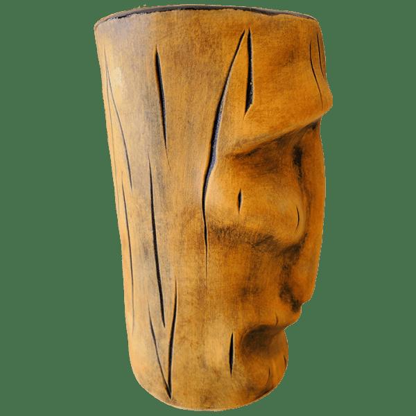 Side - Moai Mug - TH Tiki - Harvest Gold Edition