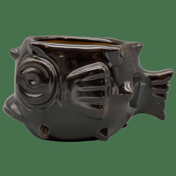 Side - Puffer Fish Full Size Stacker Mug - Munktiki Imports - Black Friday Edition