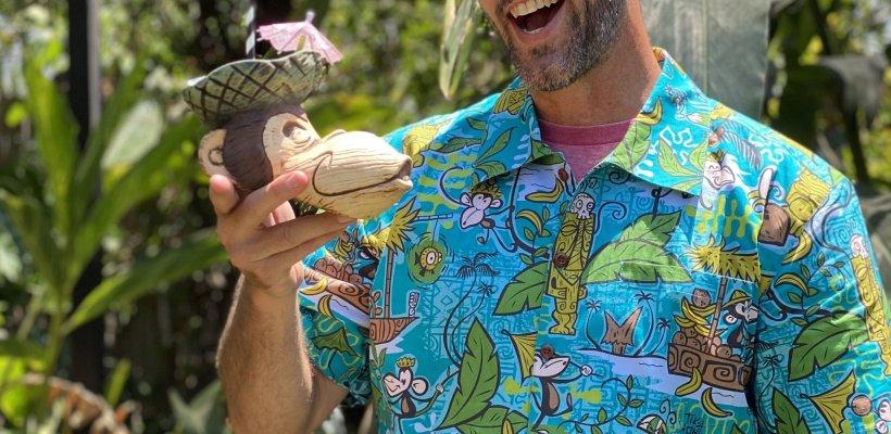 Tiki tOny in a Monkey Shirt