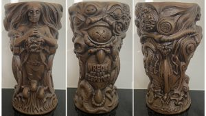 Wreck of the Hesperus Cocktail Mug By Horror In Clay