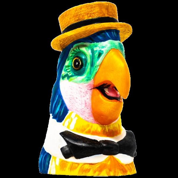Angle - Barker Bird - Trader Nic's - Acrylic Edition